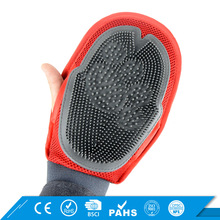 Fashion Style Pet Hair Remove Glove portable dog deshedding brush