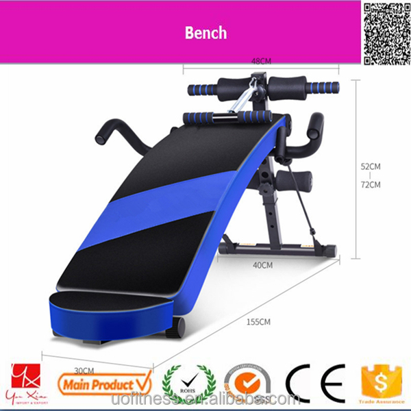 muscle training bodybuilding indoor portable weight bench