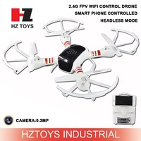 Headless mode 2.4G FPV wifi sky drone with camera by iphone control