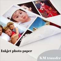 Professional inkjet glossy/matte cast coated/RC self adhesive photo paper