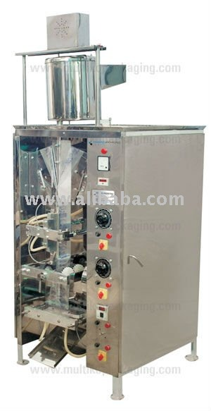 Fully Automatic Single head Pouch Packing Machine with Advance timer based gravimetric filling system