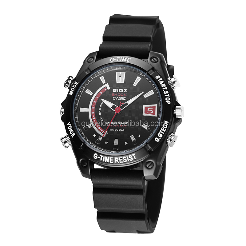 New 2014 8GB high tech watch camera MINI DV DVR water proof watch camera with usb cable