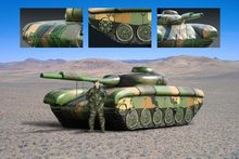 2014 new design giant 1:1 inflatable tank for sale