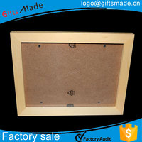 wholesale hot unfinished adjustable wood photo frames