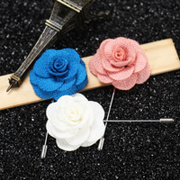 2017 Hot Selling Flower Lapel Pins