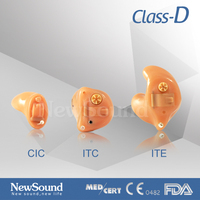 Class d amplifier Analogue Hearing Aid Faceplate ITE/ITC/CIC