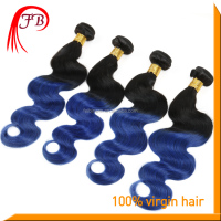 natural 100% human hair ombre braiding hair