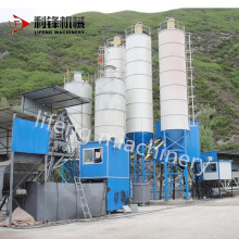 International silo cement and concrete mixing plant for construction project