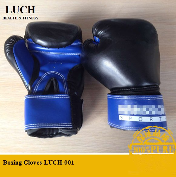 Leather boxing gloves for professional boxing punching training