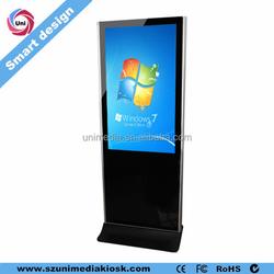 Airport station shopping mall floor stand wifi HD 42 inch LCD advertising touch panel tft kiosk