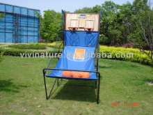 dual basketboard stand, basketball training equipment