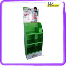 retail packing for ipad and books use novel cardboard compartment display racks