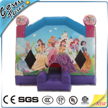 Factory price cheap princess inflatable jumping castle