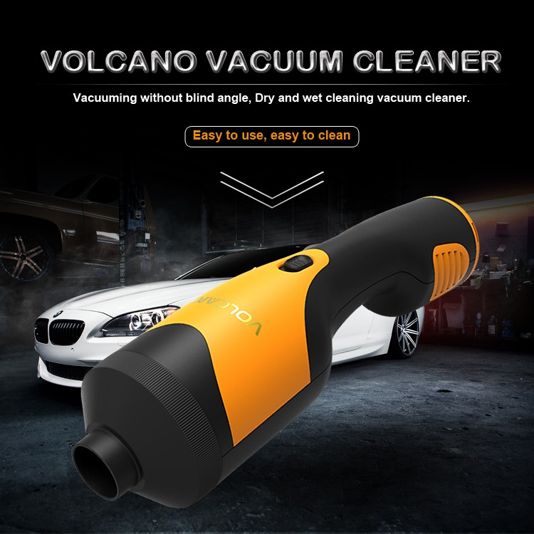 VOLCANO car rechargeable vacuum cleaner 12V auto cleaner