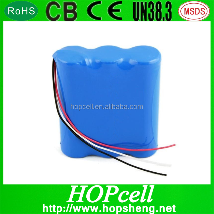 Hottest 18650 li-ion battery 18650 battery pack with PCB and wires for power tools