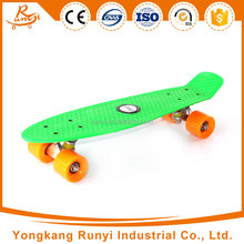 Custom plastic kids skateboard