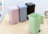 AS5006-2 China Made High Technology Reusable Plastic Mini Recycle Bin Pen Holder
