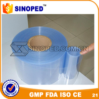 clear PVC rolls for blister packing and folding box