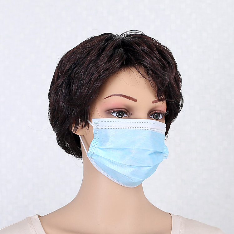 Colourful Disposable 3ply Nonwoven face mask,disposable surgical face mask