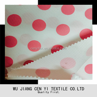 Polyester Waterproof printed Oxford Fabric for cover