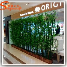 High Quality evergreen trees Large Decorative Artificial Bamboo Trees plastic bamboo poles raw bamboo poles