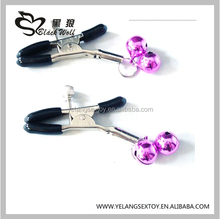 Couple Sex Stainless Nipple Sex Clamps Adult Product Nipple Breast Clip