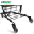 Double Layer Basket Twin Child Seat Shopping Cart Trolley