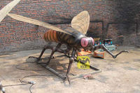 Movie Prop Plastic Insects Model Flying Fly model