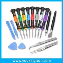 16 in 1 REPAIR SCREWDRIVER AND PRY KIT OPENING TOOLS With Point Star Pentalobes Torx Screwdriver For APPLE IPHONE4 4S 5 6
