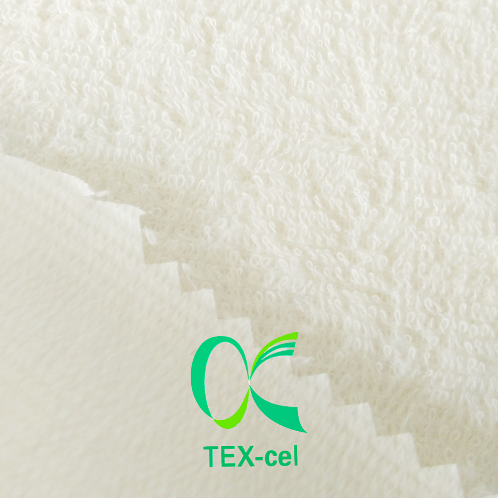 TEX-cel 80% Cotton 20% Polyester Textiles Clothing Laminated Terry Fabric With TPU Membrane