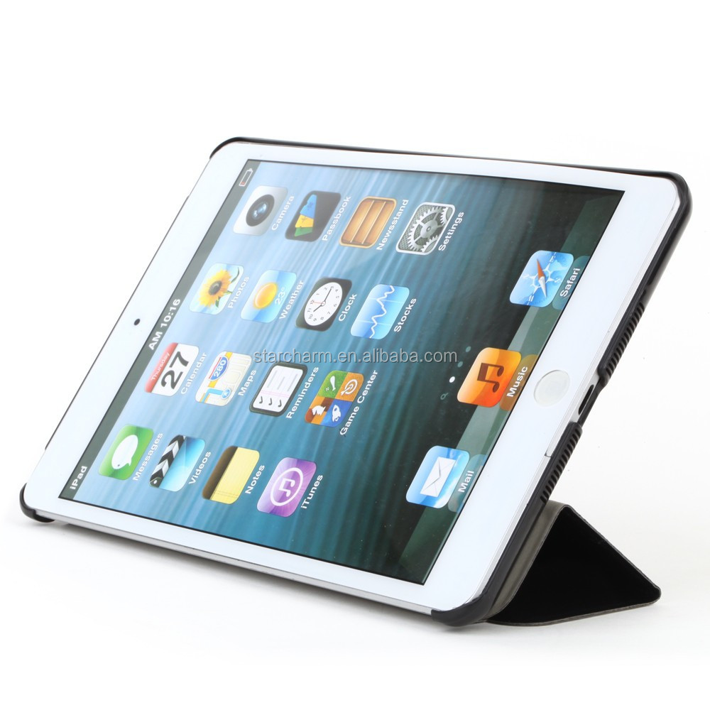 Colorful Promotional ultra thin pu leather case for ipad mini2