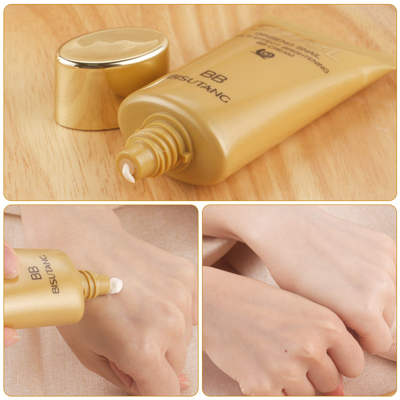 OEM/ODM/OBM whitening bb cream foundation promotion good product beauty face cream waterproof snail bb cream