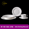 Hot Sale 30pcs Chinese White Porcelain Tableware Set