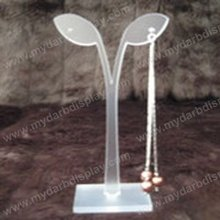 Professional craft acrylic jewelry hanging earring display rack