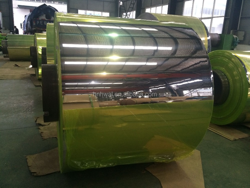 Polished Aluminum Mirror Coil