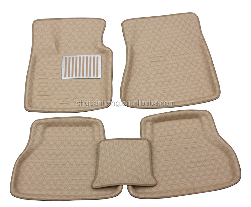 3D Easy Wash Material 5 pcs one set Car Mats