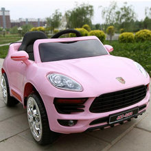 Wholesale New Licensed 2 Motor Edition Pink Girl Electric Toy Car for Big Kids to Drive
