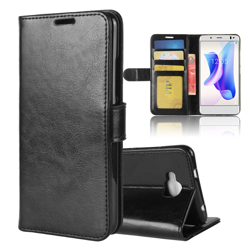 BQ Aquaris <strong>U2</strong> Case, Premium PU Leather Wallet Folio Flip Phone Stand Cover with ID Credit Card For BQ Aquaris <strong>U2</strong>