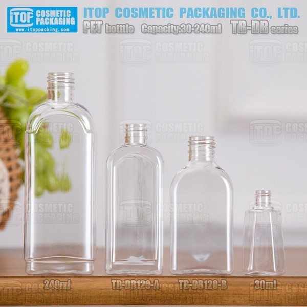 TB-DB240 240ml feel good high clear simple pet bottle manufacture in chennai