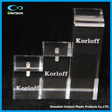 Popular in market/store customized clear acrylic plexiglass sheet