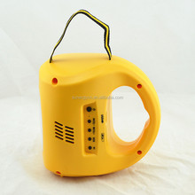solar power charged solar camping lamp 0.5w 9 led solar camping lantern