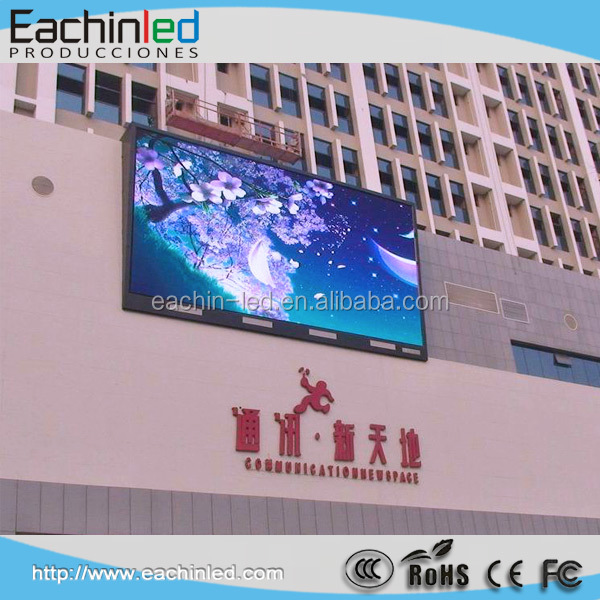 Front Accessible waterproof IP67 Outdoor Advertising LED screen sign