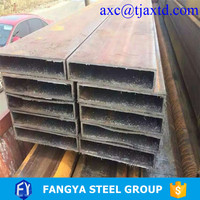 "hollow section steel pipe ! ""1""""x1"""" square tubing"" best price bulk buying rectangular steel tube"