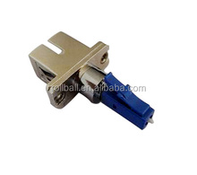 LC Male to SC Female Single-mode simplex Fiber Optic Hybrid Adapter
