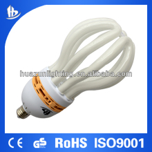 Reliable quality T6 85w Lotus energy saving lamp /CFL with CE and ROHS