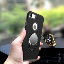 multifunction car holder ring phone case for iphone 7 case tpu pc