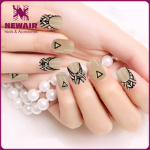 pictures of nails designs press on glue Artificial nails tips