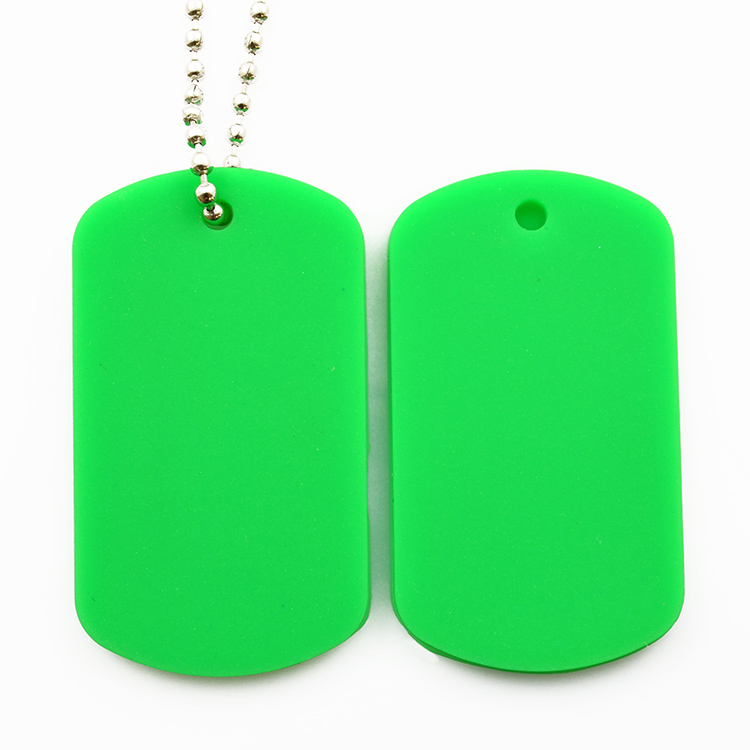 Promotional 3d customized silicone dog tag pet pvc tag for your pets