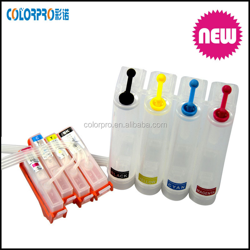 diy ciss ink tank for hp 920 ciss for HP officejet 6000 /6800 /7000 /7500