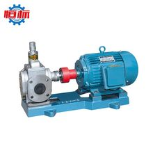 Hengbiao self priming ycb series copper brass circular arc gear electric motor driven high flow ss304 stainless steel gear pump
